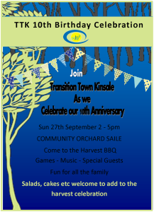 TTK 10th birthday invite