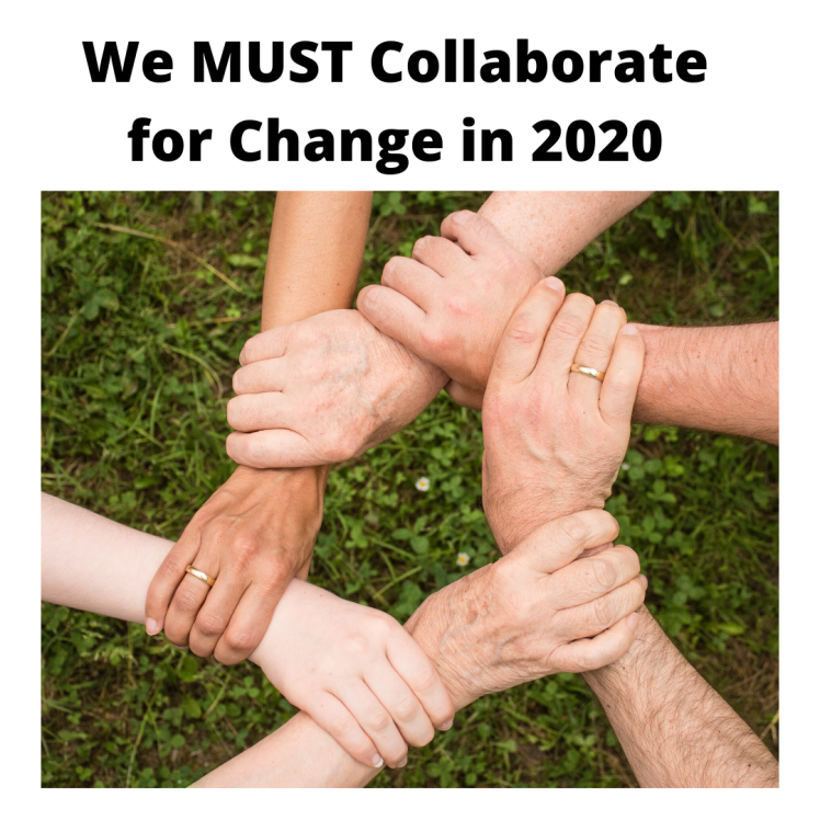 Lets collaborate for change in 2020